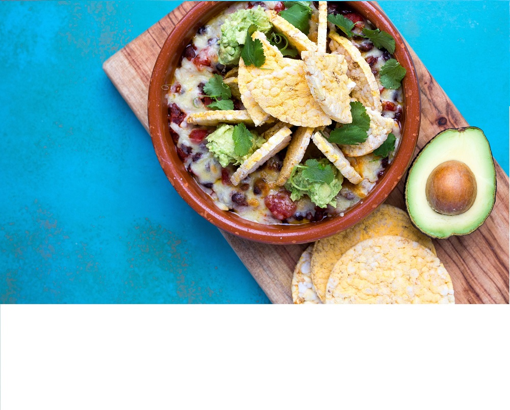 Vegetarian Nachos,with CORN THINS, Gluten Free