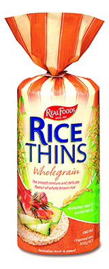Rice Thins Wholegrain 150g