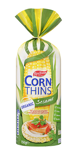 Corn Thins™ Sesame | Corn Thins