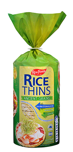 Ancient Grains rice thins