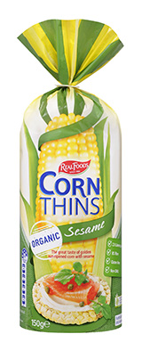Corn Thins Sesame