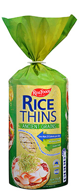 Rice Thins Ancient Grains