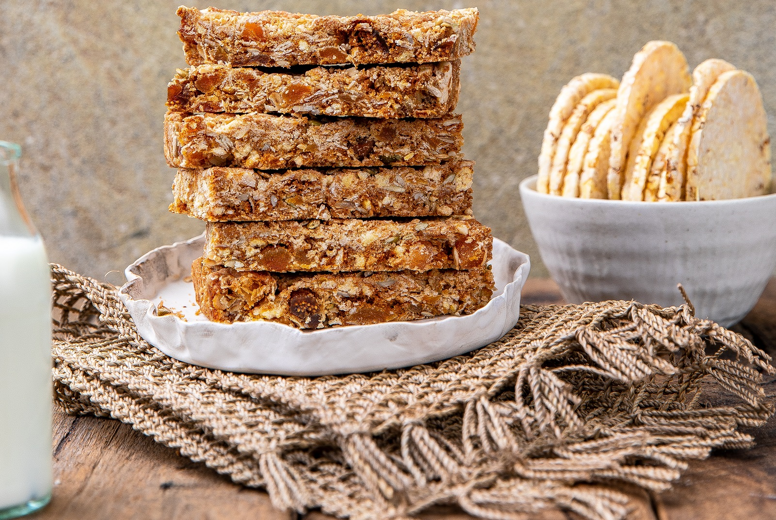 Muesli bars using CORN THINS, or Ancient Grains slices