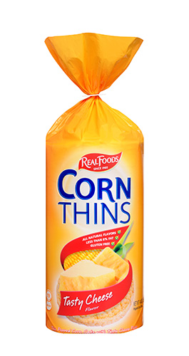 Tasty Cheese corn thins
